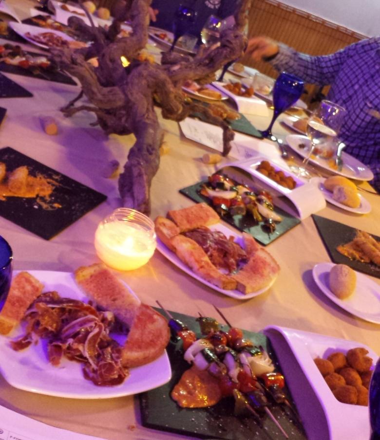Härlig Tapas restaurang i Sitges